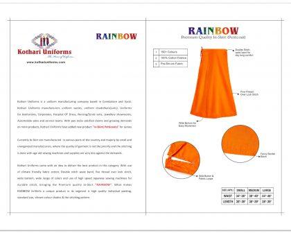 Rainbow Inskirt 2